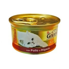 Friskies Gatos Hígado Pollo Gold tarrina 80 Gr.