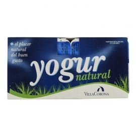 Yogur natural Villacorona 4x125 g