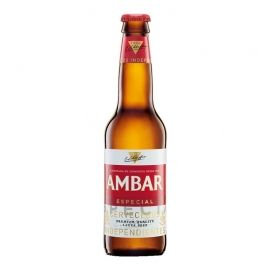 Cerveza Ambar 25 cl pack 24 botellines