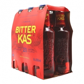 Bitter Kas 20 cl pack 6 botellas